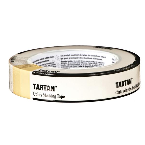 """Tartan General Purpose Masking Tape, .94""""X60' -1 Roll"""