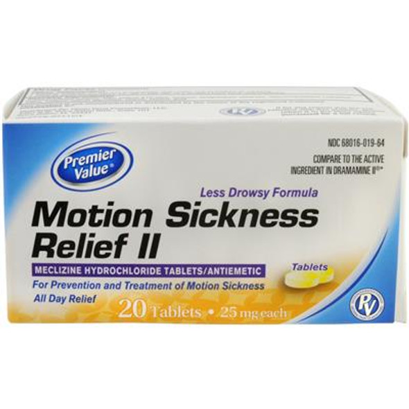 Premier Value Motion Sickness - 20ct