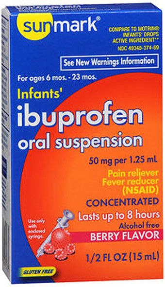 Sunmark Infants' Ibuprofen Oral Suspension Berry - 0.5 oz