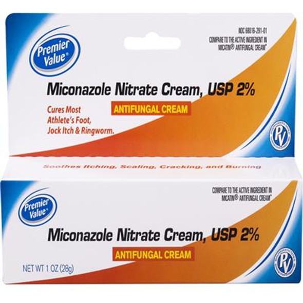 Premier Value Miconazole Nitrate Cream 2% - 1oz