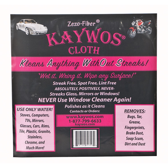 "Kaywos Cloth, White, 16 X 15"" - 1 Pkg"