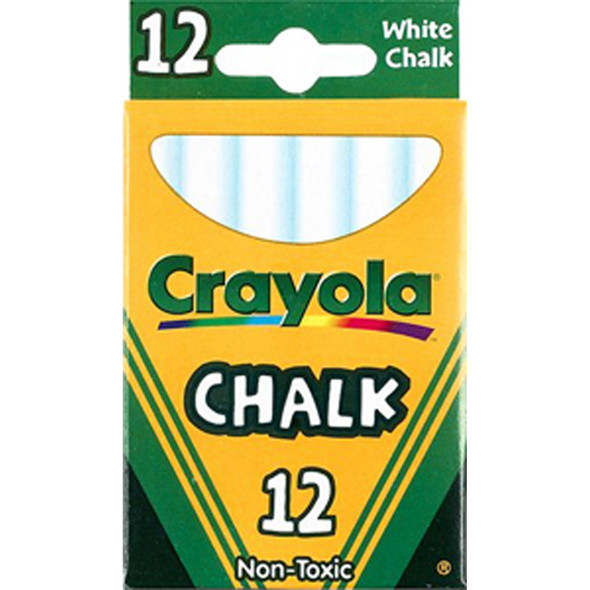 Chalk 12Ct, White, 12Ct - 1 Pkg