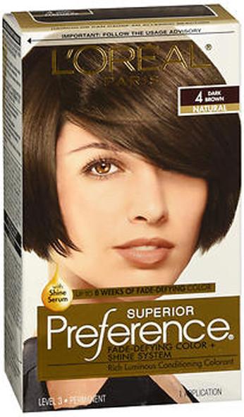 L'Oreal Superior Preference - 4 Dark Brown