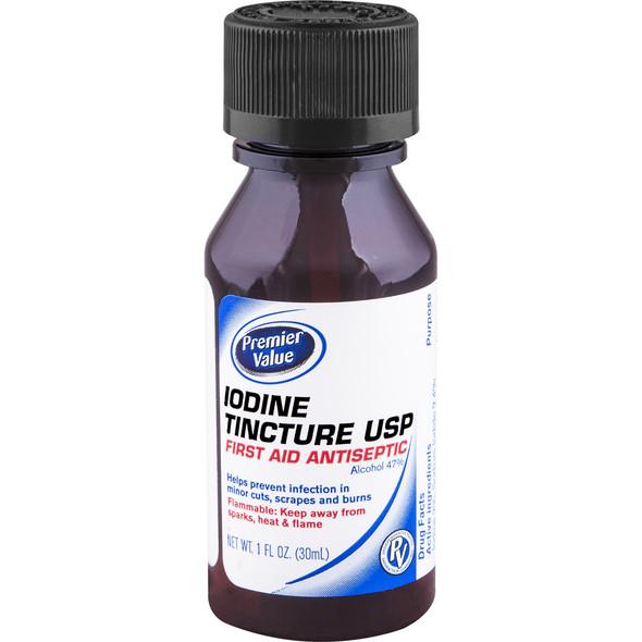 Premier Value Iodine Tincture Mild - 1oz
