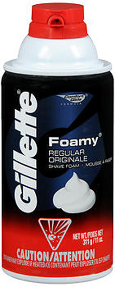 Gillette Foamy Shave Foam Regular - 11 oz