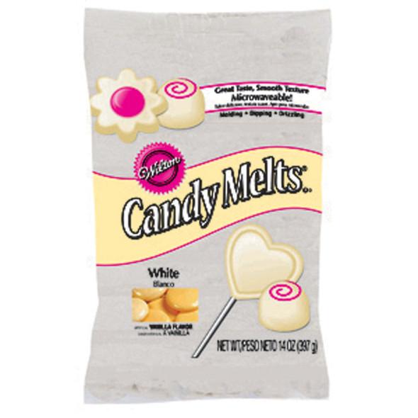 Melting Wafers, Candy / Cake Decorating, White, 14/12 oz - 1 Pkg