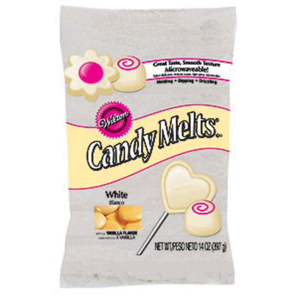 Melting Wafers, Candy / Cake Decorating, White, 14/12 oz - 1 Pkg