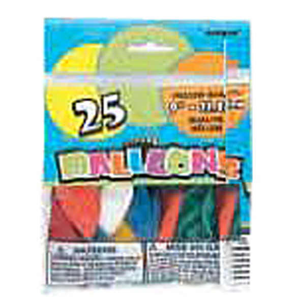 "Balloon, Assortment, 9"" - 1 Pkg"