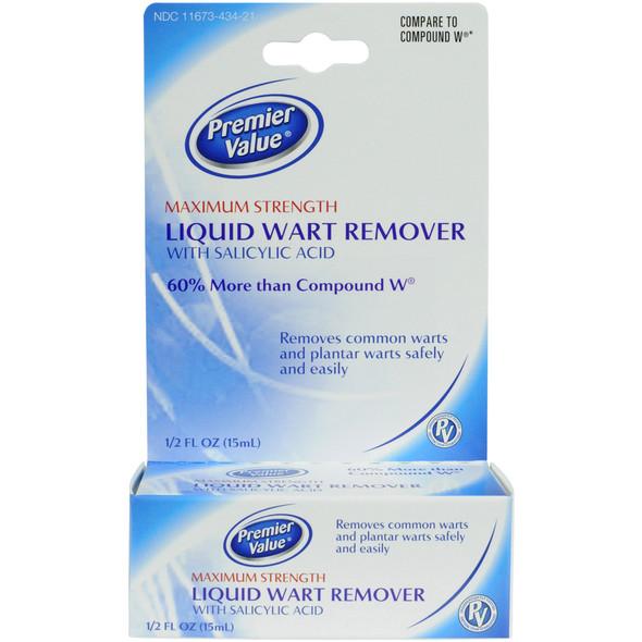 Premier Value Liquid Wart Remover - .5oz