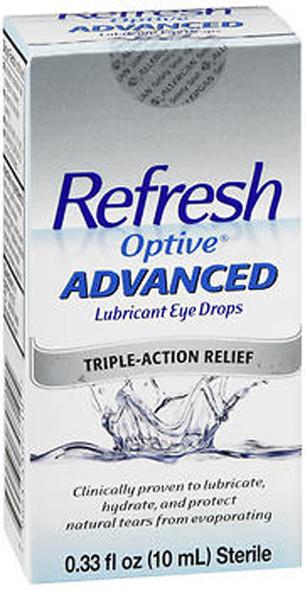 Refresh Optive Advanced Lubricant Eye Drops - .33 oz