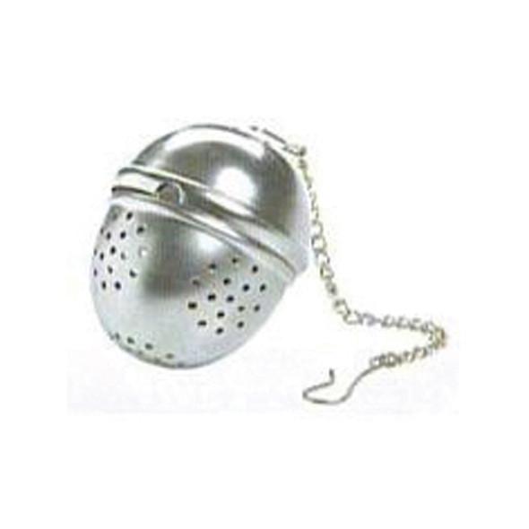 Tea Ball, Chrome - 1 Pkg