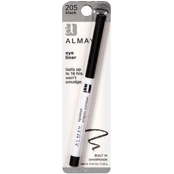 Almay Eyeliner, Black  - Each