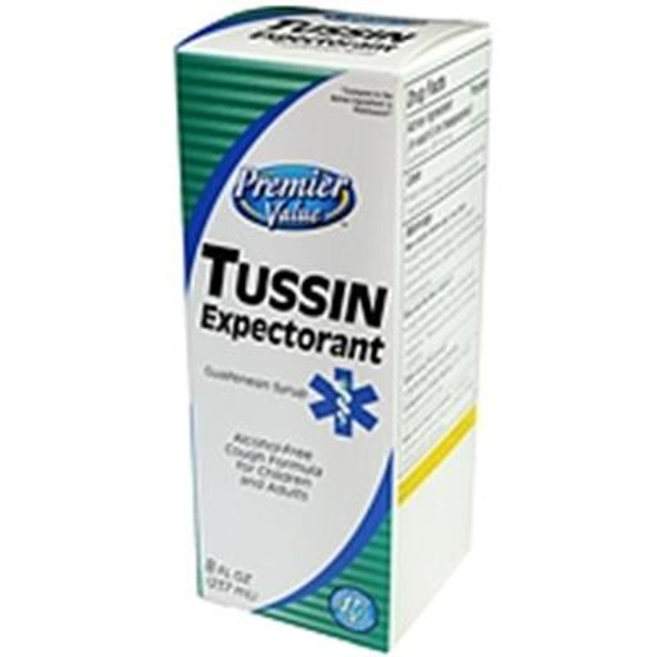 Premier Value Tussin Expectorant - 8oz