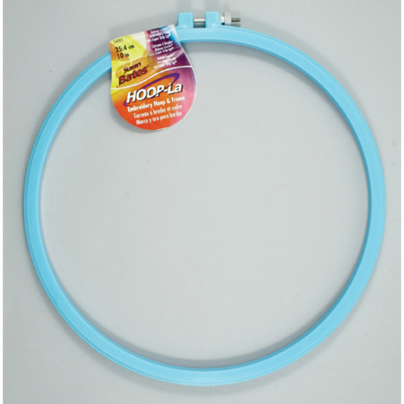 """Luxite Embroidery Hoop, Assorted, 10"""" - 1 Pkg"""