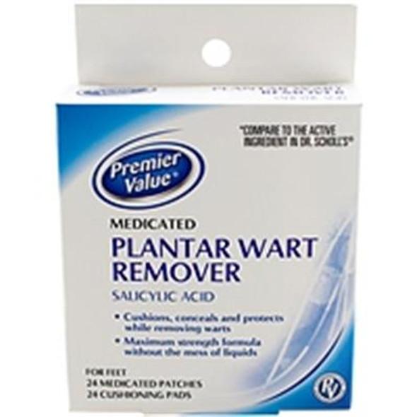 Premier Value Plantar Wart Remover - 24ct