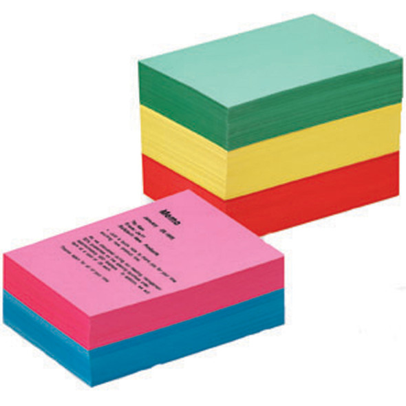 """Colored Copy Paper-Brights, Assorted, 8.5X11"""" - 1 Pkg"""