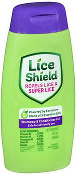 Lice Shield Shampoo and Conditioner - 10 oz