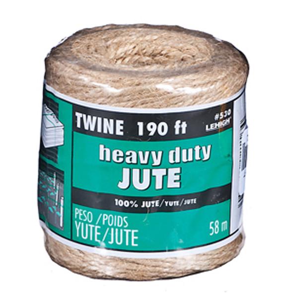 Jute Twine, 190' - 1 Pkg