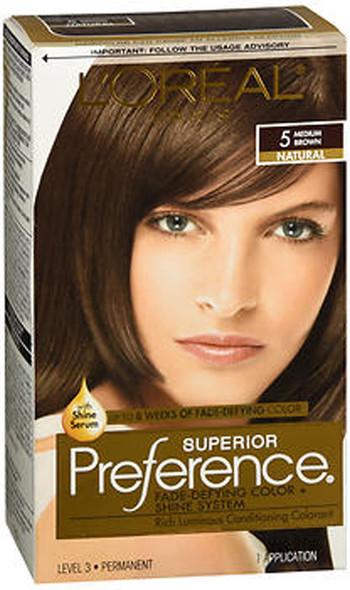 L'Oreal Superior Preference - 5 Medium Brown (Natural)