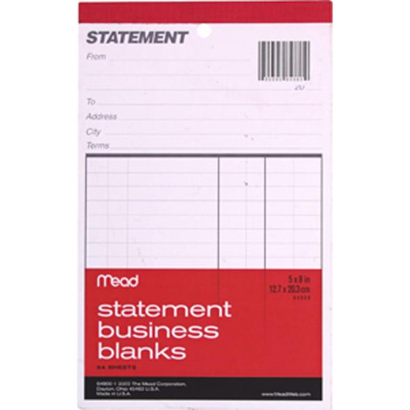 "Business Blanks-Statements, 5x8"""