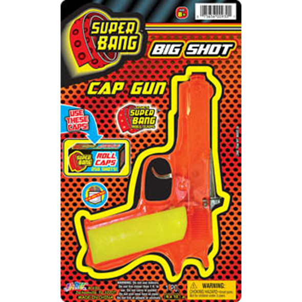 Super Bang Big Shot Cap Gun- 1 Pkg