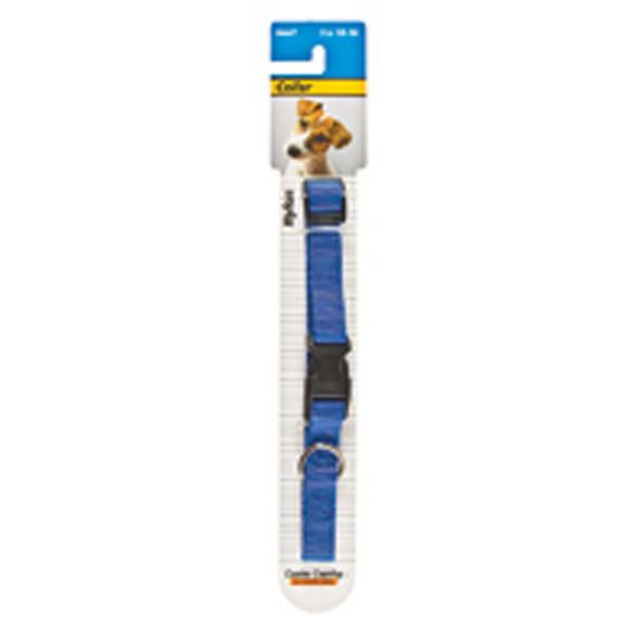 "Nylon Adjustable Dog Collar 5/8"", 10-16"""