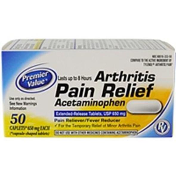 Premier Value Non-Aspirin Arthritis - 50ct