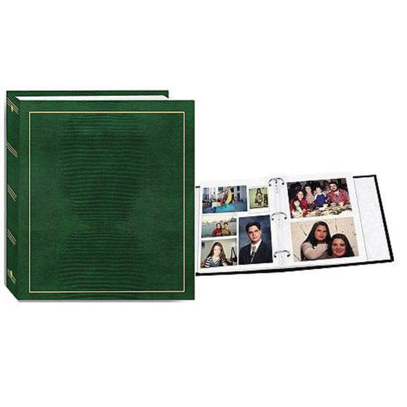 Magnetic Photo Album 3 Ring, 100 Pg - 1 Pkg