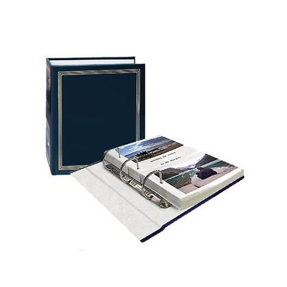 "Photo Album Memo Pocket 3 Ring, 4X6"" - Each"