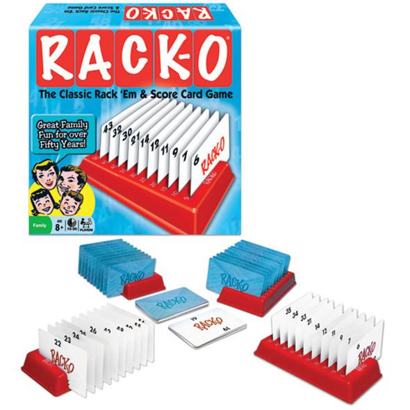 Rack-O Card Game - 1 Pkg