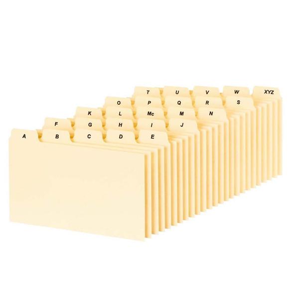 """Plain A-Z Index Card Guides, 3X5"""" - 1 Pkg"""