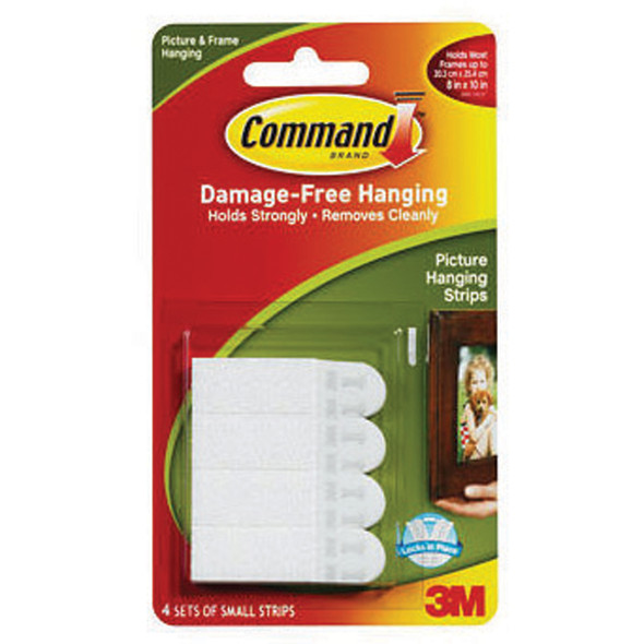 Command Poster Strips/Adhesive - 1 Pkg