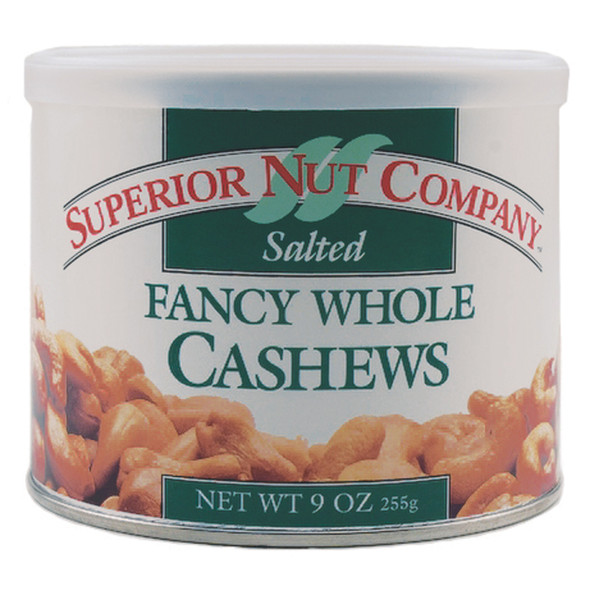 Salted Whole Cashews - Nuts, 9 oz - 1 Pkg