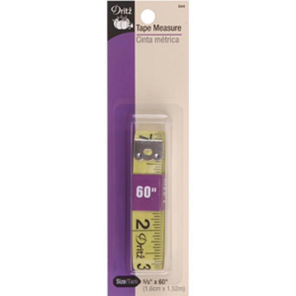"Tape Measure, Yellow, 5/8""X60"" - 1 Pkg"