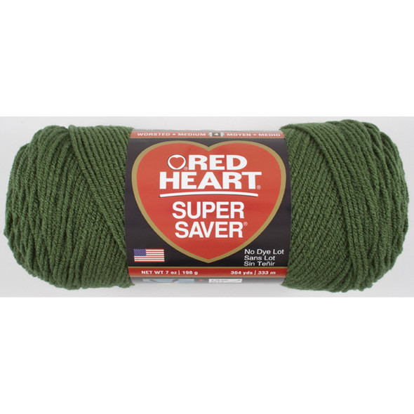 E300 Super Saver Yarn, Medium Thyme, 7 oz - 3 Packs