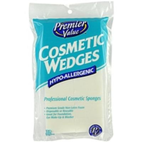 Premier Value Cosmetics Wedges - 32ct