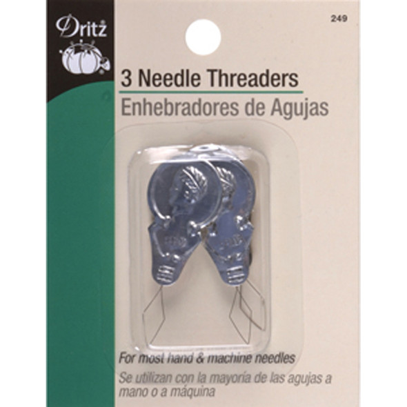 Needle Threader, 3 Count - 1 Pkg
