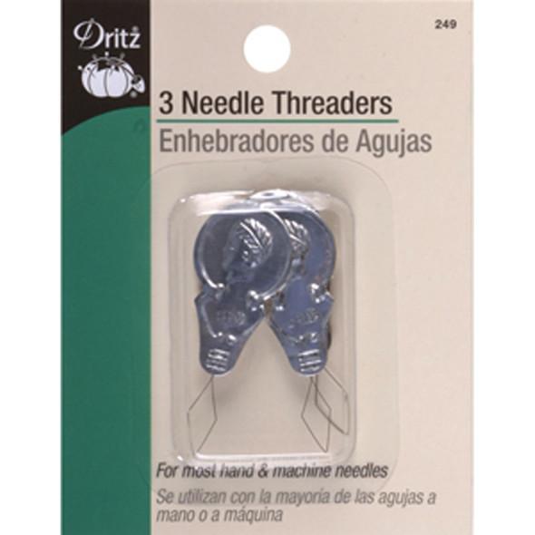 Needle Threader, 3 Count - 1 Pkg