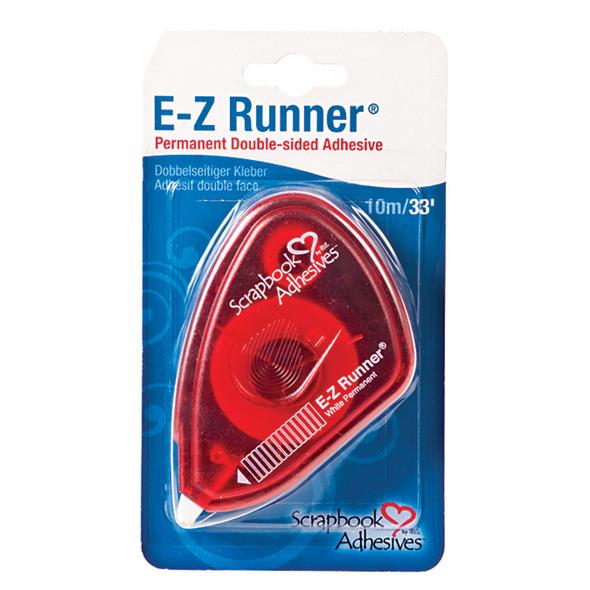 E-Z Runner Adhesive, Permanent, 33' - 1 Ct