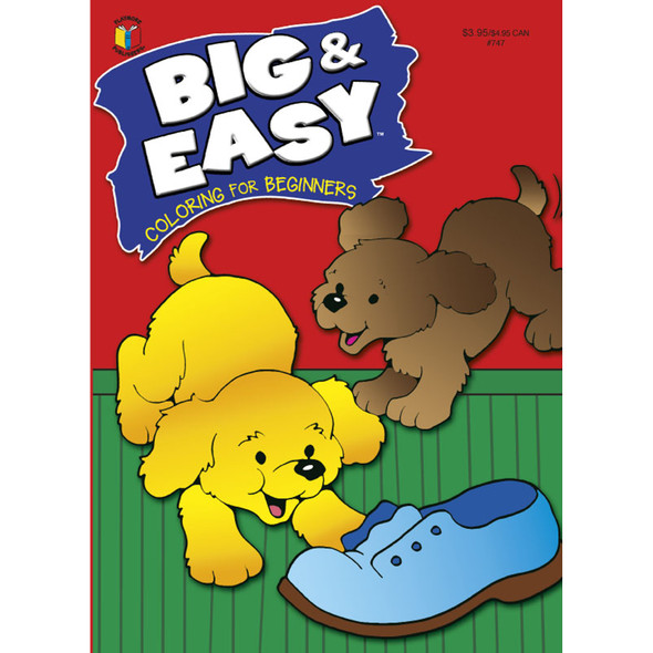 Big & Easy Coloring Book - 1 Pkg