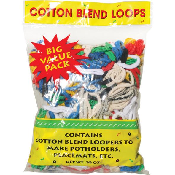 Cotton Loops, Jersey-Primary, 10 oz - 1 Pkg
