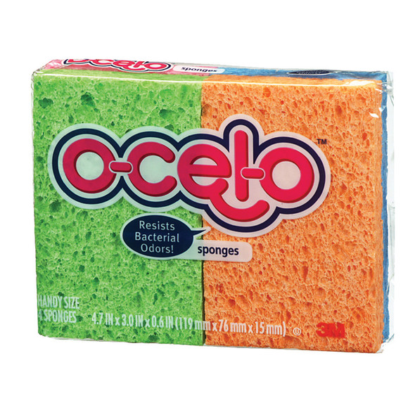 O-Cel-O Scrub Sponge, 4 Pk - 1 Pkg