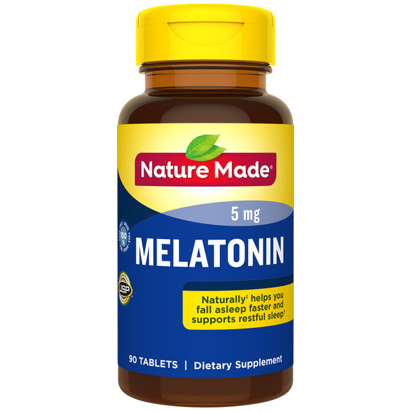 Nature Made Melatonin 5 mg - 90 Tablets