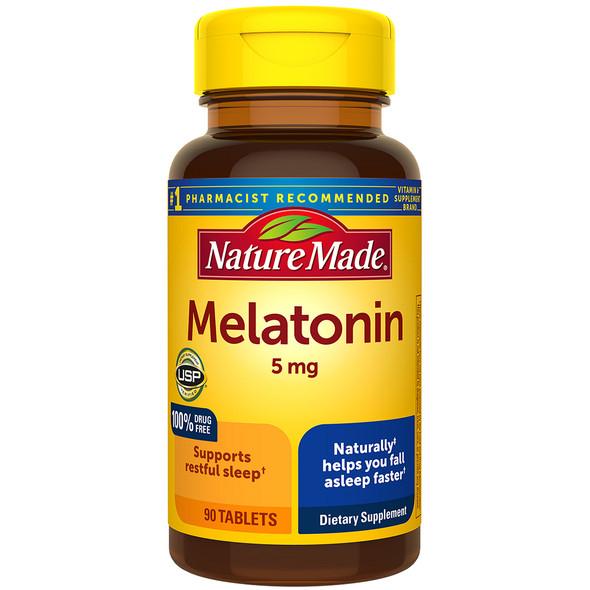 Nature Made Melatonin 5 mg - 90 Tablets