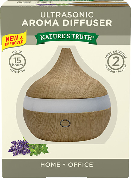 Nature's Truth Aromatherapy Ultra Sonic Aroma Diffuser - 1 each