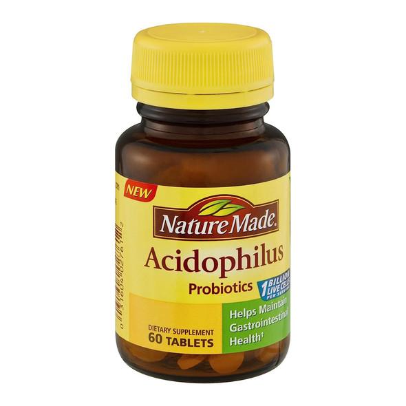 Nature Made Acidophilus - 60 Tablets