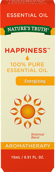 Nature's Truth Aromatherapy 100% Pure Essential Oil Energizing - .5 oz