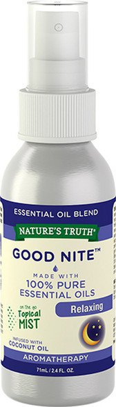 Nature's Truth Good Nite Calming On the Go Hydrating Mist - 2.4 oz