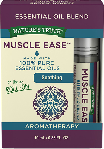 Nature's Truth Muscle Ease Essential Oil Blend On the Go Roll-On - .33 oz