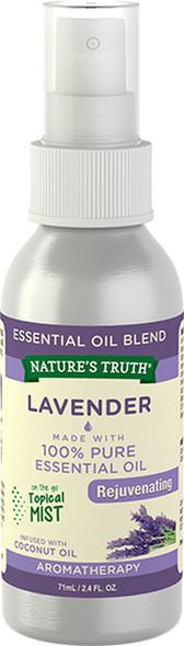 Nature's Truth Lavender Rejuvenating On the Go Hydrating Mist - 2.4 oz